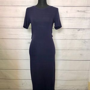 Fitted Dress w/ Back Cutout